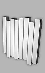 Радиатор отопления Genesis-Aqua Wave 60x100 см, белый