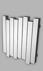 Радиатор отопления Genesis-Aqua Wave 60x120 см, белый