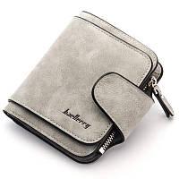 Жіночий гаманець, клатч Baellerry Forever Mini, балери. Сірий. Замша PU, фото 1