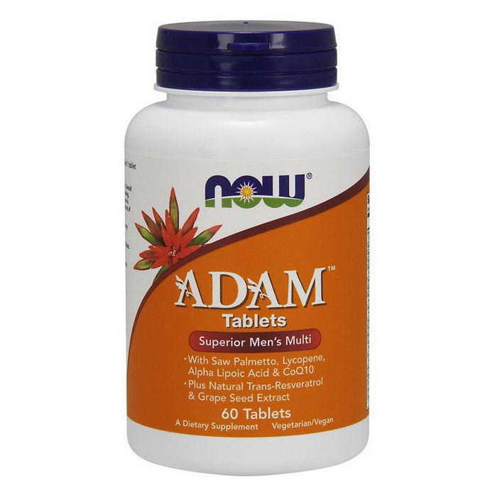 Витамины для мужчин NOW Adam (60 tabs)
