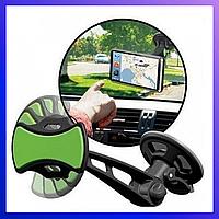 Магнитный держатель GripGo на лобовое стекло для смартфона, навигатора в автомобиль