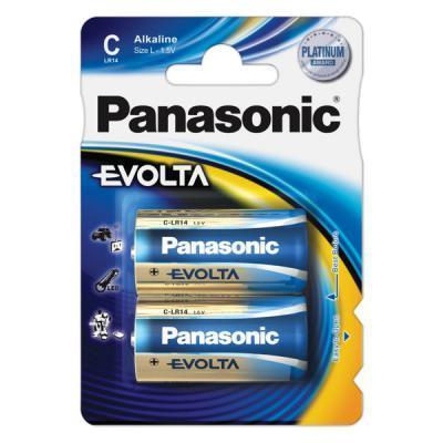 Батарейка PANASONIC C LR14 Evolta * 2 (LR14EGE/2BP)