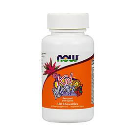 Вітаміни для дітей NOW Kids Vits (120 chew tabs)