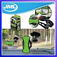 Магнитный держатель на лобовое стекло для смартфона, навигатора, телефона в автомобиль GripGo