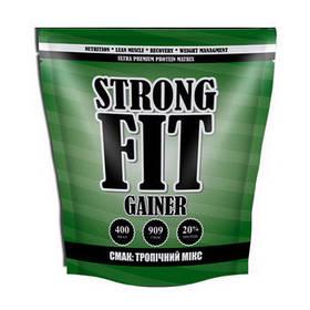 Високобілковий Гейнер Strong FIT Gainer 20% protein (909 g тропічний мікс)