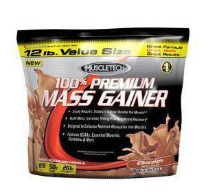 Гейнер высокобелковый MuscleTech 100% Mass Gainer (5,5 kg)