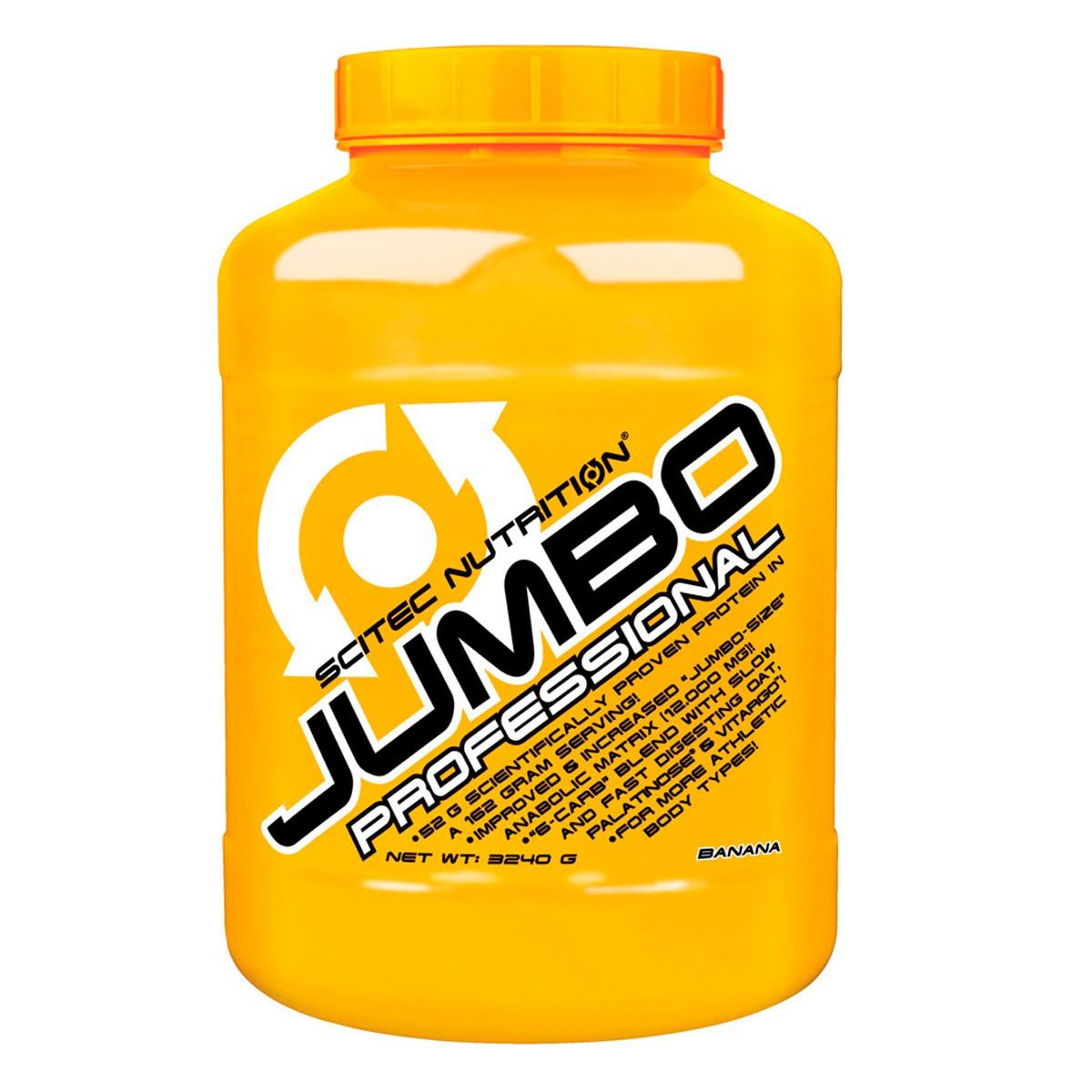 Високобілковий Гейнер Scitec Nutrition Jumbo Professional (3240 g)