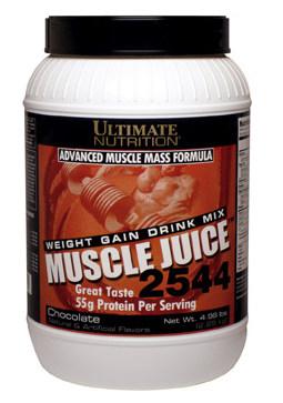 Гейнер высокобелковый Ultimate Nutrition MUSCLE JUICE 2544 (2.25 kg)