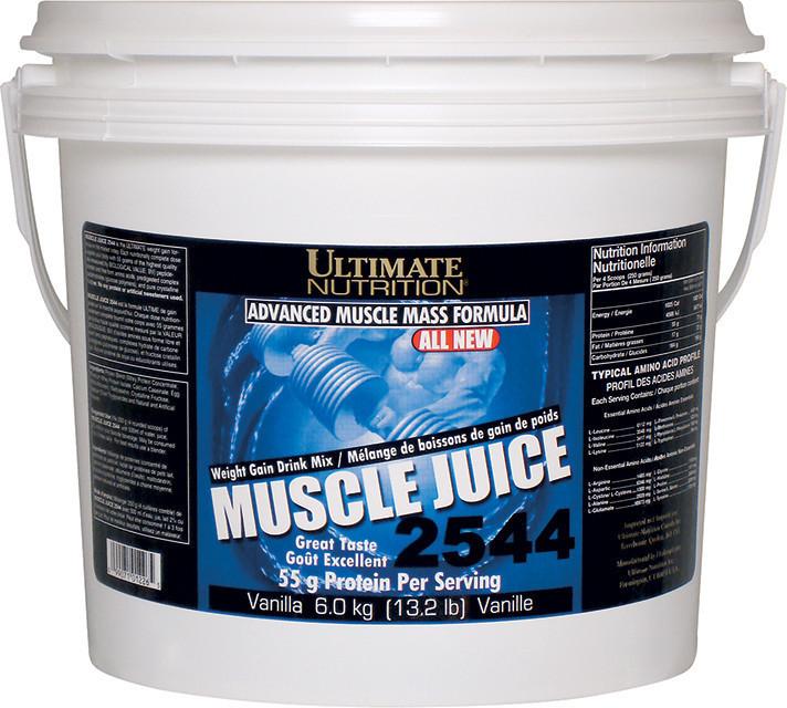 Високобілковий Гейнер Ultimate Nutrition Muscle Juice 2544 (6 кг)