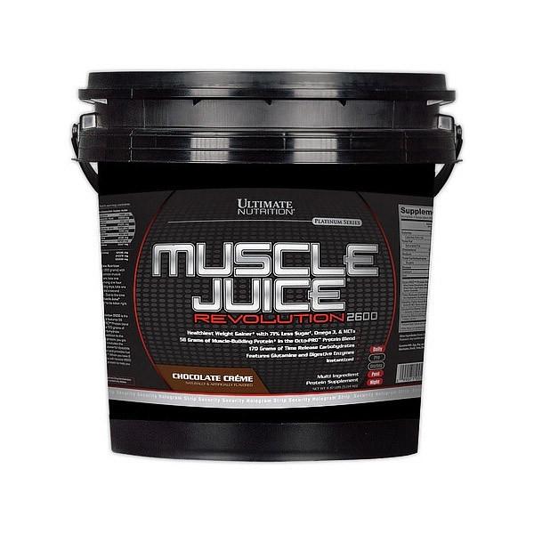 Високобілковий Гейнер Ultimate Nutrition Muscle Juise Revolution (5 kg)