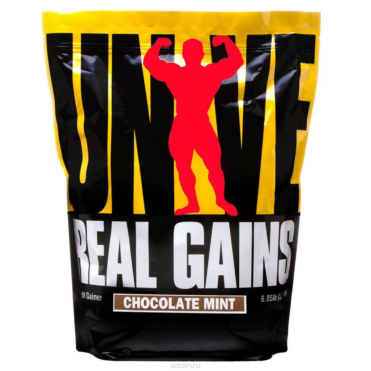 Високобілковий Гейнер від Universal Nutrition Real Gains (3.11 kg)