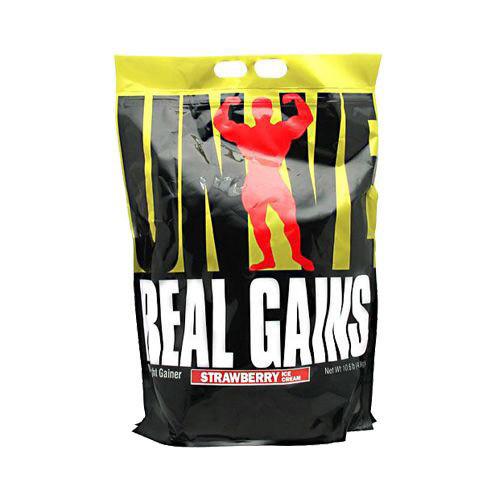 Високобілковий Гейнер від Universal Nutrition REAL GAINS (4.8 kg)