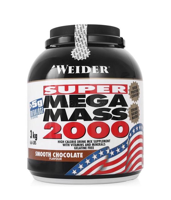 Високобілковий Гейнер Weider Mega Mass 2000 3 kg