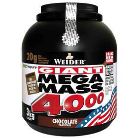 Високобілковий Гейнер Weider Mega Mass 4000 3 kg