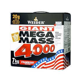 Високобілковий Гейнер Weider Mega Mass 4000 7 kg