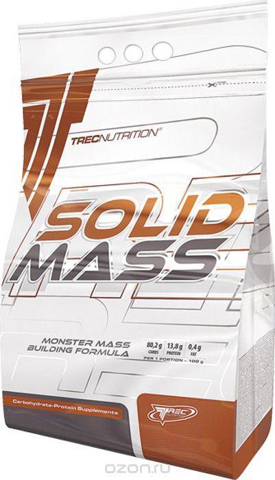Високобілковий Гейнер TREC Nutrition Solid Mass (3 kg)