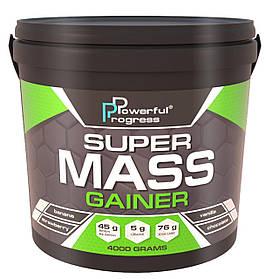Високобілковий Гейнер Powerful Progress Super Mass Gainer (4 kg)