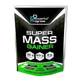 Високобілковий Гейнер Powerful Progress Super Mass Gainer 1 kg