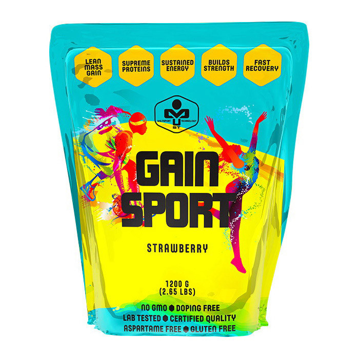 Гейнер высокобелковый MUST Gain Sport 1,2 kg