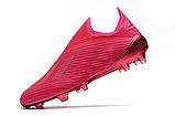 Бутсы Adidas X 19+ FG pink, фото 4