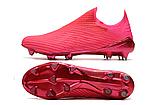 Бутсы Adidas X 19+ FG pink, фото 3