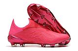 Бутсы Adidas X 19+ FG pink, фото 2