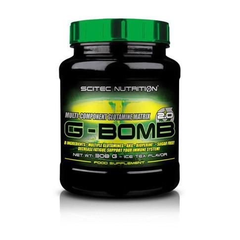 Глютамін Scitec Nutrition G-Bomb 2.0 (308 g)