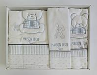 Полотенца детские Maison D'or 3шт Dear Panda