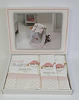 Полотенца детские Maison D'or 3шт Love Baby