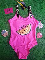 Купальник подростковый fuba 68705 сдельный 8,10,12,14,16 розовый