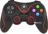 Беспроводной Bluetooth джойстик Gen Game V8 Black/Red (7211), фото 2