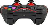 Беспроводной Bluetooth джойстик Gen Game V8 Black/Red (7211), фото 4