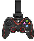 Беспроводной Bluetooth джойстик Gen Game V8 Black/Red (7211), фото 5