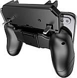 Игровой геймпад триггер Lesko W18 мобильный джойстик для игроманов PUBG телефона, фото 2