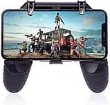 Игровой геймпад триггер Lesko W18 мобильный джойстик для игроманов PUBG телефона, фото 3