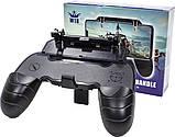 Игровой геймпад триггер Lesko W18 мобильный джойстик для игроманов PUBG телефона, фото 8