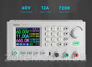 RD6012 0-60V 0-12A (720 Ватт) Цифровой Лабораторный блок модуль питания RIDEN