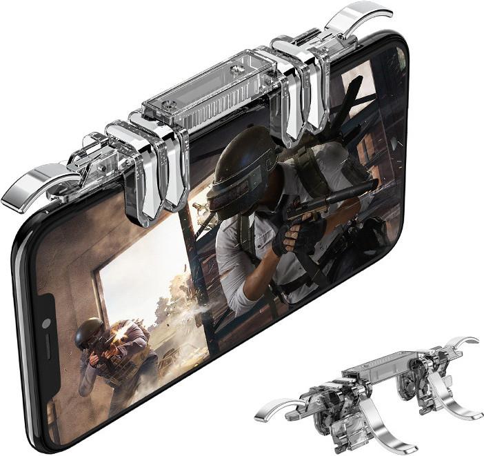 Беспроводной геймпад триггер для смартфонов Union PUBG Mobile К19