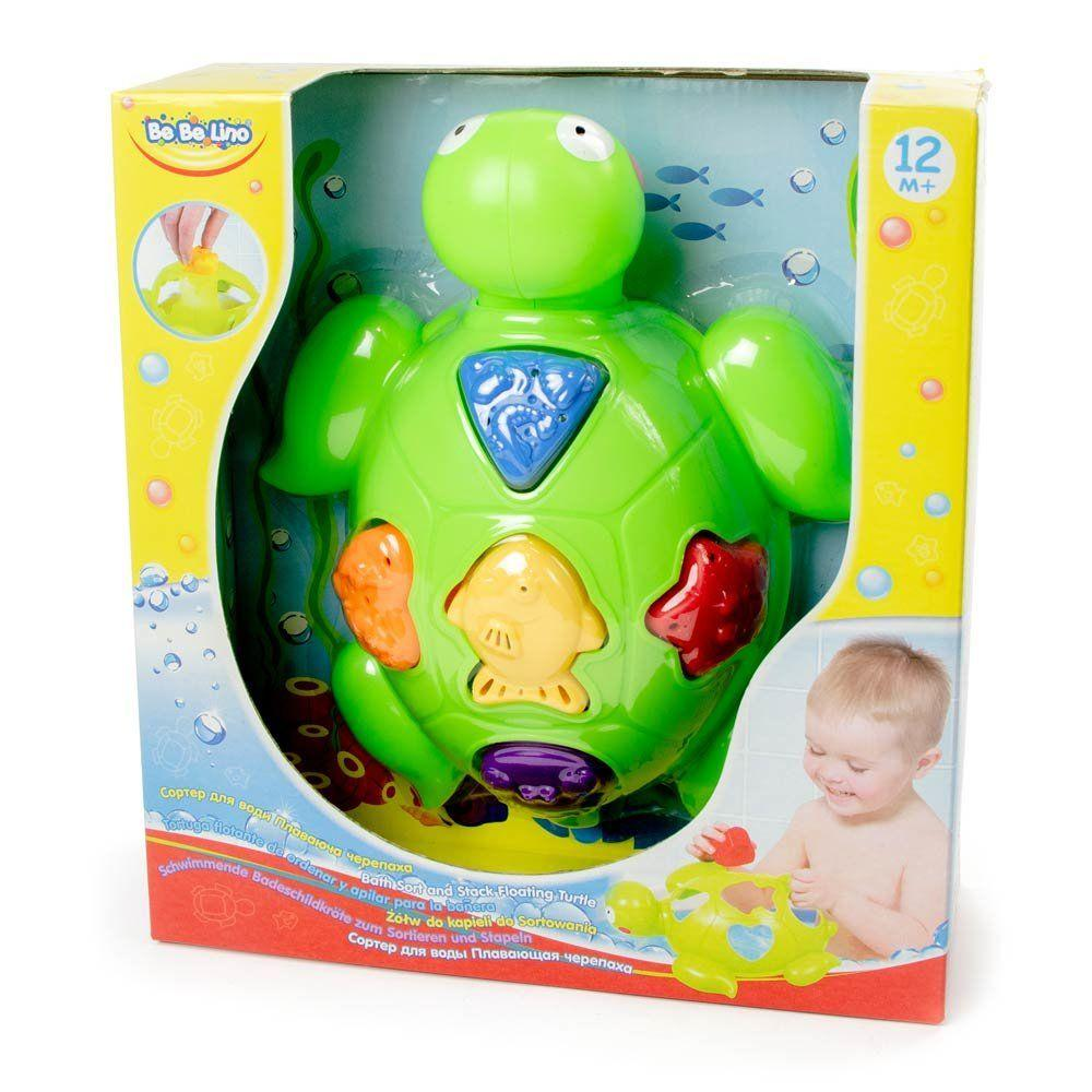 Сортер для воды Черепаха, BeBeLino