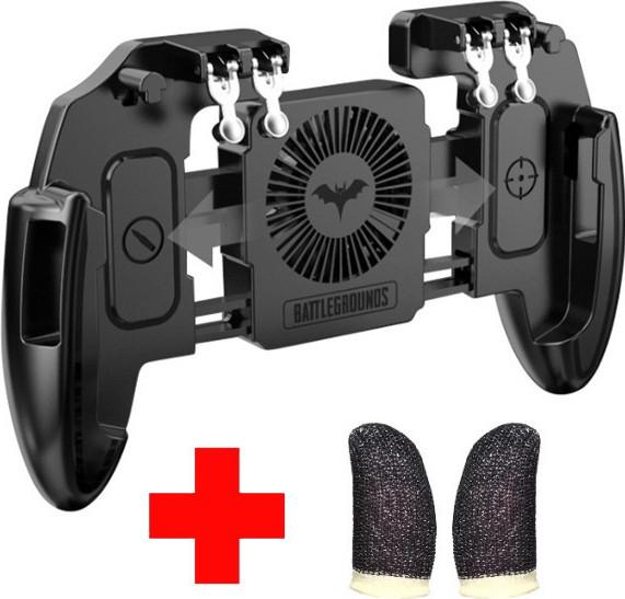 Sundy Беспроводной геймпад триггер для смартфонов Union PUBG Mobile M 11 с вентилятором и аккумулятором на