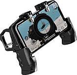 Sundy Беспроводной геймпад триггер  с пистолетными ручками джойстик для смартфона Union PUBG Mobile K21, фото 2