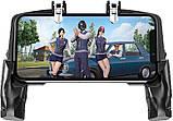 Sundy Беспроводной геймпад триггер  с пистолетными ручками джойстик для смартфона Union PUBG Mobile K21, фото 3