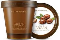 Укрепляющая маска для волос Nature Republic Argan Essential Deep Care Hair Pack 200 ml