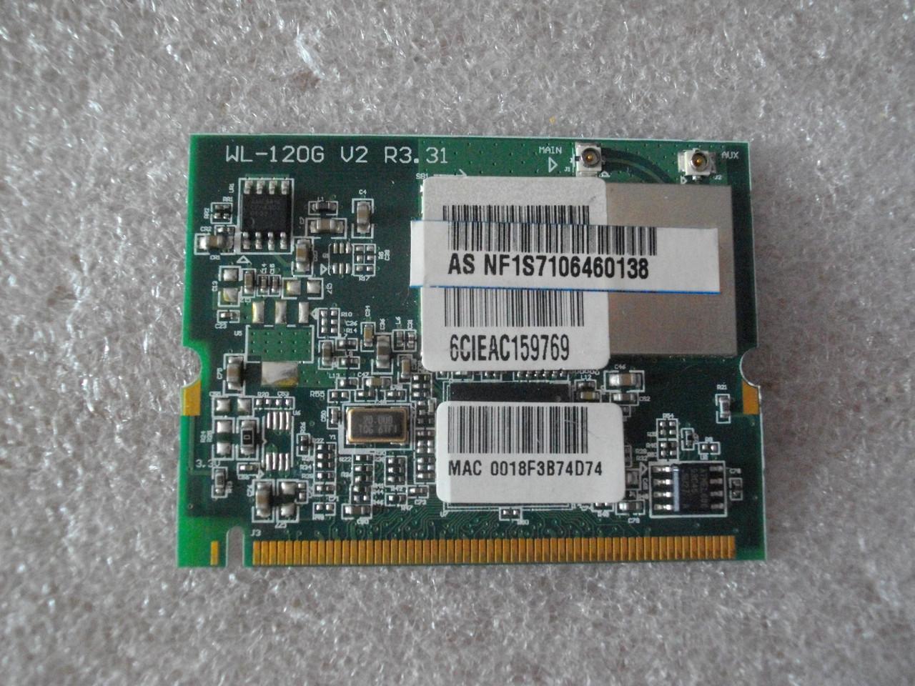Плата модуль wi-fi WL-120G Asus A6 A6R A6RP БУ