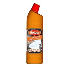 Helper Professional гель для чистки  унитазов ванн сантехники кафеля плитки бассейнов концентрат 750 мл
