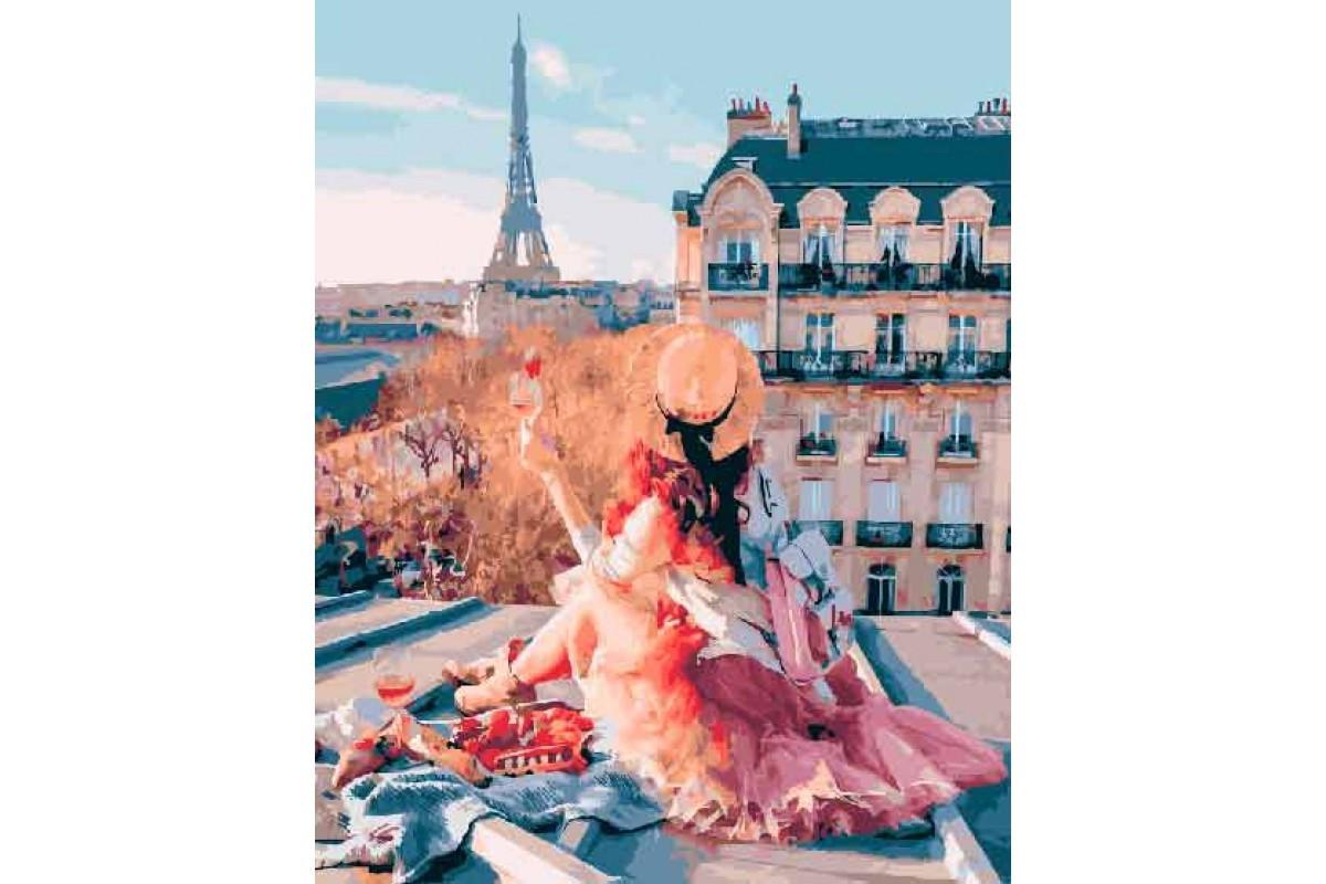 Картина по номерам Красоты Парижа (BK-GX25419) 40 х 50 см