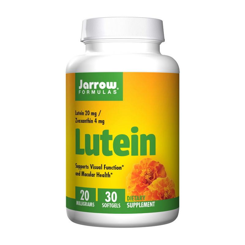Лютеїн для очей Jarrow Formulas Lutein 20 mg 30 softgels