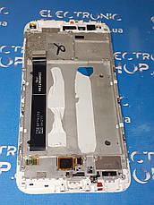 Модуль сенсор и дисплей белый Xiaomi Mi A1, Mi 5X, MDG2, MDI2  оригинал б.у., фото 2