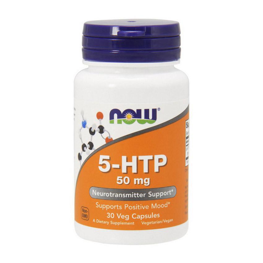 Гидрокситриптофан NOW 5-HTP 50 mg (30 caps)