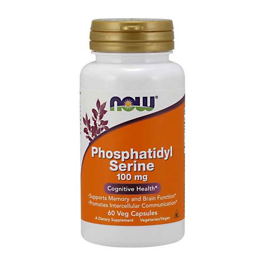 Фосфатидил Серин NOW Phosphatidyl Serine 100 mg (30 veg caps)